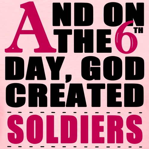 God Created Soldiers