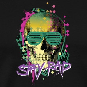 Stay Rad Skull - Men's Premium T-Shirt