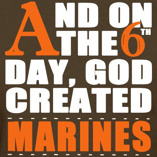 God Created Marines