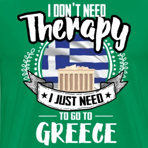 Therapy Greece T-Shirts - Men's Premium T-Shirt