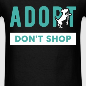 Adoption - Adopt. Don't shop. - Men's T-Shirt