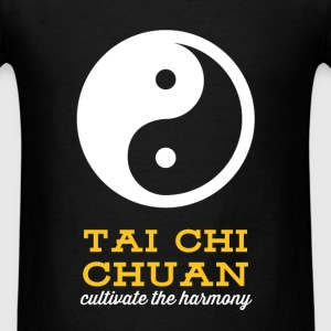 Tai chi - Tai chi chuan. Cultivate the harmony. - Men's T-Shirt