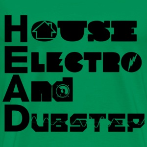 House Electro and Dubstepv - Men's Premium T-Shirt