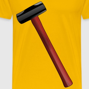 Red Sledgehammer - Men's Premium T-Shirt