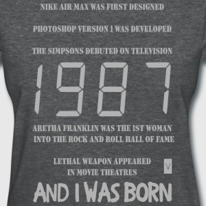 1987 30th birthday - Women's T-Shirt