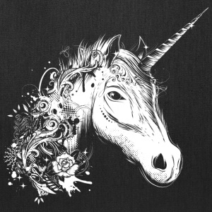 Head of a unicorn Bags & backpacks - Tote Bag
