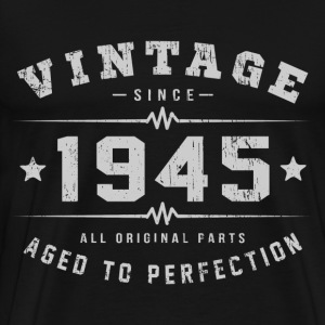 Vintage 1945 Aged To Perfection T-Shirts - Men's Premium T-Shirt