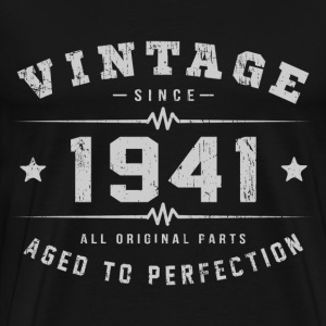 Vintage 1941 Aged To Perfection T-Shirts - Men's Premium T-Shirt
