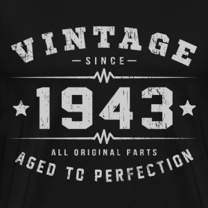 Vintage 1943 Aged To Perfection T-Shirts - Men's Premium T-Shirt