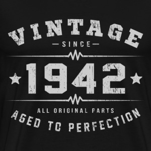 Vintage 1942 Aged To Perfection T-Shirts - Men's Premium T-Shirt
