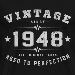 Vintage 1948 Aged To Perfection T-Shirts - Men's Premium T-Shirt