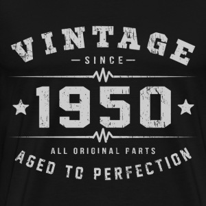 Vintage 1950 Aged To Perfection T-Shirts - Men's Premium T-Shirt