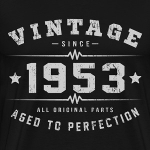 Vintage 1953 Aged To Perfection T-Shirts - Men's Premium T-Shirt