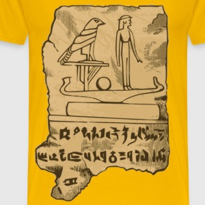 Egyption Tablet - Men's Premium T-Shirt