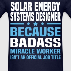 Solar Energy Systems Designer Tshirt - Men's T-Shirt