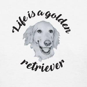Golden retriever women's tshirt - Women's T-Shirt