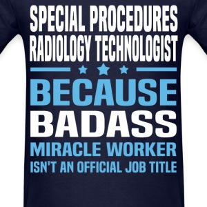 Special Procedures Radiology Technologist Tshirt - Men's T-Shirt