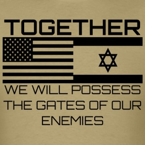 Possess The Gates Of Enemies - Men's T-Shirt