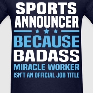 Sports Announcer Tshirt - Men's T-Shirt