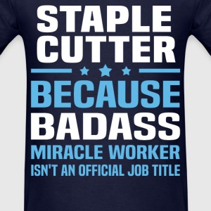 Staple Cutter Tshirt - Men's T-Shirt