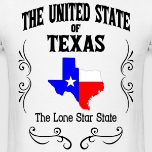 United State of Texas - Men's T-Shirt