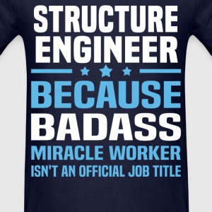 Structure Engineer Tshirt - Men's T-Shirt