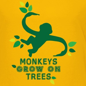 Monkeys Grow On Trees - Kids' Premium T-Shirt