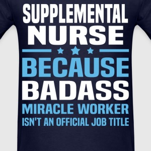 Supplemental Nurse Tshirt - Men's T-Shirt