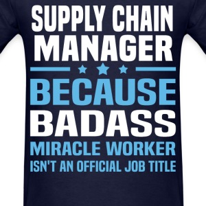 Supply Chain Manager Tshirt - Men's T-Shirt