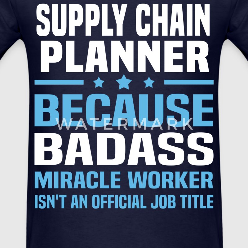 Supply Chain Planner Tshirt - Men's T-Shirt