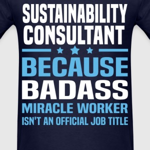 Sustainability Consultant Tshirt - Men's T-Shirt