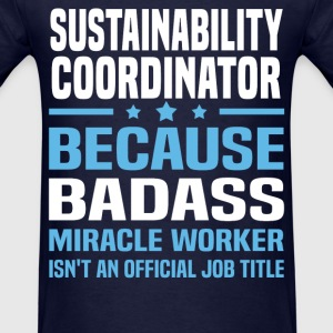 Sustainability Coordinator Tshirt - Men's T-Shirt