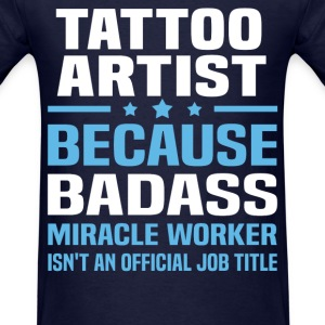 Tattoo Artist Tshirt - Men's T-Shirt