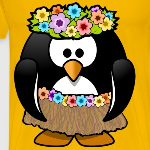 Hawaiian Penguin - Men's Premium T-Shirt
