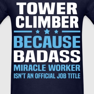 Tower Climber Tshirt - Men's T-Shirt