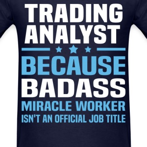 Trading Analyst Tshirt - Men's T-Shirt