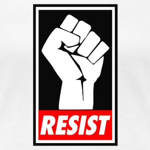 resist Trump - Women's Premium T-Shirt