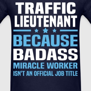 Traffic Lieutenant Tshirt - Men's T-Shirt