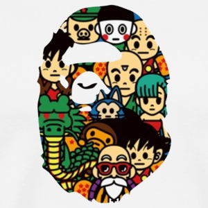 Bape x Dragonball Z Limited Edition - Men's Premium T-Shirt