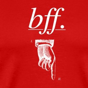 best friends forever BFF - Men's Premium T-Shirt