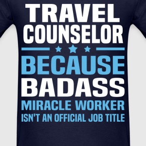 Travel Counselor Tshirt - Men's T-Shirt