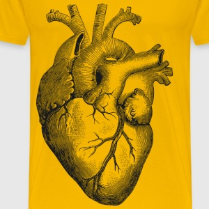 Anatomical Heart - Men's Premium T-Shirt