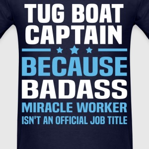 Tug Boat Captain Tshirt - Men's T-Shirt