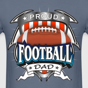 Proud Football Dad T-Shirts - Men's T-Shirt