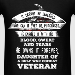 Veteran - It cannot be inherited nor can it ever b - Men's T-Shirt