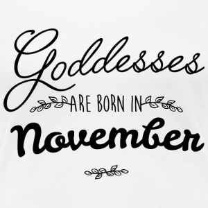 November Goddesses T-Shirts - Women's Premium T-Shirt