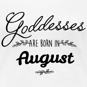 August Goddesses T-Shirts - Women's Premium T-Shirt