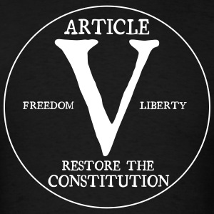 Article V Restore the Constitution - Men's T-Shirt