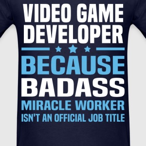 Video Game Developer Tshirt - Men's T-Shirt