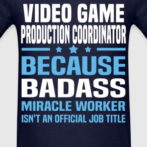 Video Game Production Coordinator Tshirt - Men's T-Shirt